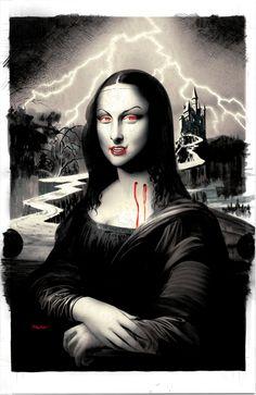 Mona Lisa vampire