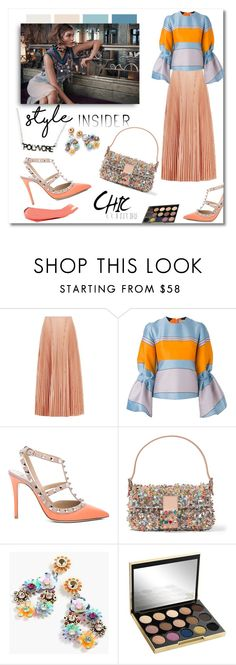 """Style Insider Contest-2"" by faten-m-h ❤ liked on Polyvore featuring Cédric Charlier, Roksanda, Valentino, Fendi, J.Crew, Urban Decay, Mary Kay, contestentry, styleinsider and PVStyleInsiderContest"