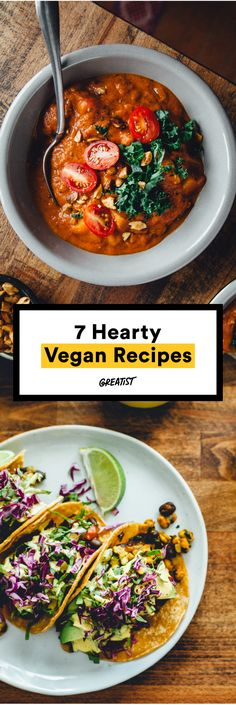 Carnivores welcome. #vegan #dinner #recipes http://greatist.com/eat/savory-vegan-recipes-even-meat-eaters-will-love
