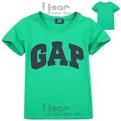 Retail brand gaps T shirt 2 15 ages children t shirt short sleeve O neck cotton