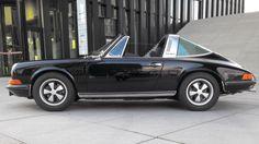 1973 Porsche 911 T 2.4 Targa original black