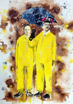 "Awesome Breaking Bad Art Exhibition :: ""Breaking Bad"" by Lora Zombie // At the exhibit presented by Breaking Gifs. #MyModernMetropolis"