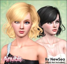 Anubis Under The Sun ♪: NewSea's Only You Female Hairstyle ~ Pooklet'd for all ages