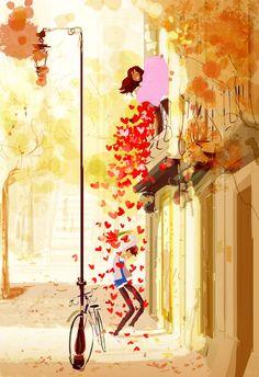 St Valentine / San Valentino - Illust: #PascalCampion