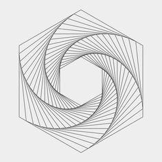 Geometric drawing, geometric shapes, geometric tattoo template, geometric d Geometry Art, Sacred Geometry, Geometric Designs, Geometric Shapes, Arte Linear, Drawing Software, Geometric Drawing, Math Art, Illusion Art
