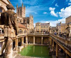Curso de inglés en Bath, Inglaterra