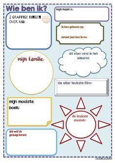 Download de startactiviteit: Wie ben ik? Een activiteit om klasgenoten te leren…