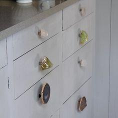 DIY: Gemstone Cabinet Knobs