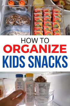 Looking for a way to organize your kids snacks? Check out this fridge organization ideas for kids school and at home snacks. Fridge Organization, Organization Ideas, Storage Ideas, Snacks Kids, Healthy Snacks, Steam Bending Wood, Diy Dining Room Table, Cheap Closet, Unique Headboards