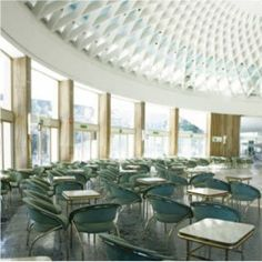 Sala ottagonale, Sala Nervi Chianciano Terme