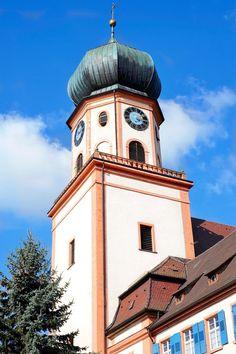 Kloster St. Trudpert im Münstertal Kirchturm