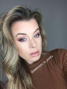 Warm Purple Smokey Eye #makeup #smokeyeye #beauty #makeupartist