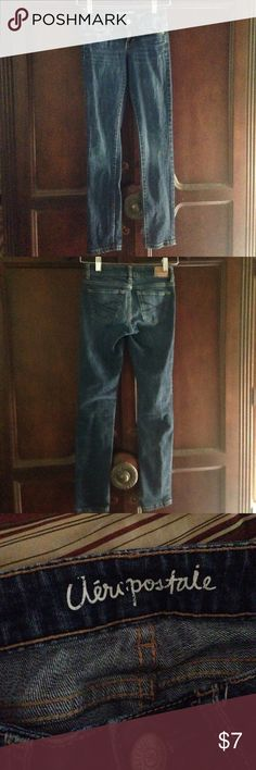 Aeropostale skinny jeans Aeropostale Bayla skinny jeans. Excellent used condition. Size 000 Aeropostale Jeans Skinny