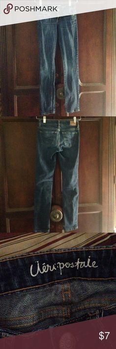 Aeropostale skinny jeans Aeropostale Bayla skinny jeans. Excellent used condition. Size 000 Aeropostale Jeans Skinny