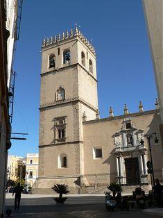 Badajoz - Catedral de Badajoz  -  Alcazaba Árabe - Viajar por Extremadura