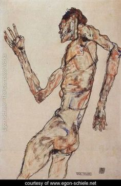 The Dancer - Egon Schiele - www.egon-schiele.net            (Also, I imagine this is how i must look when I'm dancing)