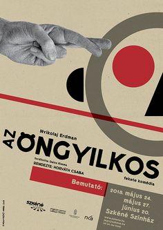 Nikolai Erdman: The suicide / Az öngyilkos poster