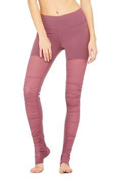 e67d651acd Alo Yoga Mesh Goddess Legging - Women's, this is the grenache color  (affiliate)