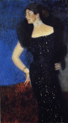 Gustav Klimt: Portrait of Rose von Rosthorn-Friedmann, 1901. Oil painting.