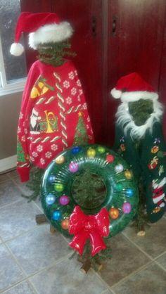 Tacky Christmas decor!