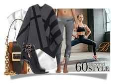 """""""#B"""" by joicecl ❤ liked on Polyvore featuring Burberry, lululemon, Alo Yoga and 60secondstyle"""