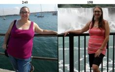 92 lbs lighter, 200% healthier, and 500% happier--read her #motivational story! | via @SparkPeople #success #motivation #weightloss