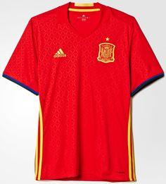 Adidas divulga nova camisa titular da Espanha - Show de Camisas