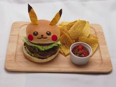 An #Hamburger #Pikachu ? it's the #PikachuCafe at #Tokyo ! #itadakimasu ! #pokemon #pokeball #curry #food #kareRice #Omerice