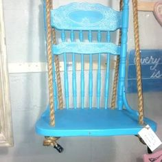 Shabby Chic Chair with Flowers C H A I R S Pinterest Shabby