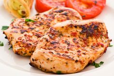 Main Dish Recipe: Red Pepper & Herb Grilled Chicken – 12 Tomatoes