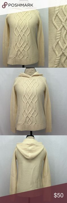 """Athleta Hooded Sweater Athleta hooded sweater. NWOT no flaws condition. Size S. Armpit to armpit 17 1/2"""". Shoulder to bottom hem 24"""". Athleta Sweaters"""