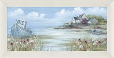 Nothing like a great picture of a tranquil location. Great Pictures, Coast, Artwork, Painting, Work Of Art, Auguste Rodin Artwork, Painting Art, Artworks, Paintings