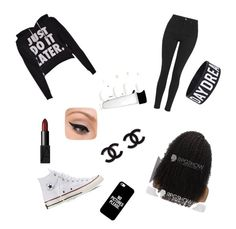 """""""Black and white"""" by elancc ❤ liked on Polyvore featuring interior, interiors, interior design, home, home decor, interior decorating, Topshop, Converse, Casetify and NARS Cosmetics"""