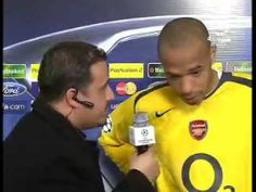 Arabic interviewer piss Thierry Henry off