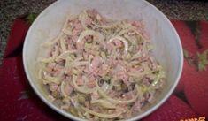 Slovak Recipes, Pasta Salad, Ham, Potato Salad, Cabbage, Salads, Food And Drink, Appetizers, Meals