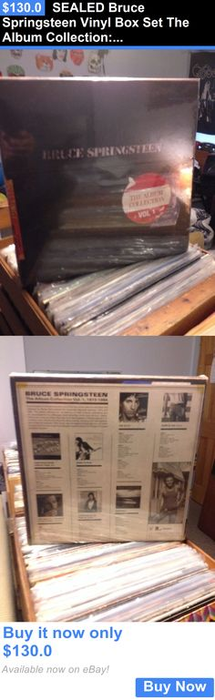 Music Albums: Sealed Bruce Springsteen Vinyl Box Set The Album Collection:1973-1984 L@@K! BUY IT NOW ONLY: $130.0