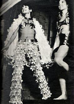 1968 latest Paris fashion
