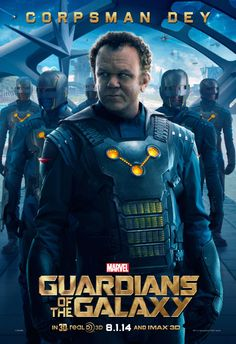 Guardians Of The Galaxy Corpsman Dey official movie poster