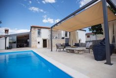Villa No. Istria Croatia, Boutique Homes, Villas, Outdoor Decor, September, Home Decor, Decoration Home, Room Decor, Mansions
