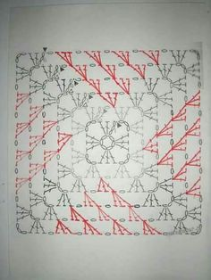 Baby Blanket Crochet Diagram Granny Squares Ideas For 2019 Point Granny Au Crochet, Grannies Crochet, Granny Square Crochet Pattern, Crochet Diagram, Crochet Chart, Crochet Squares, Filet Crochet, Crochet Doilies, Crochet Ideas