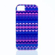 Tribal Diamonds Blue IPhone case