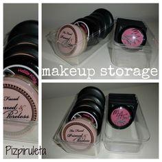 Organizador para maquillaje con cajas de Ferrero Rocher!!