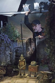 boxtrolls stop motion behind the scenes