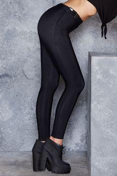 Warm Grey Pocket Leggings