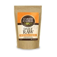 This special blend of vitamins, minerals, essential fatty acids and enzymes helps balance raw diets by supplying the required nutrients for whole body health. - Sprinkle on food - Contains Omega 3, 6