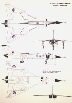 Vintage Aeroplanes The Avro Arrow Aviation Industry, Aviation Art, Military Jets, Military Aircraft, Zeppelin, Avro Arrow, Air Festival, Air Force, Fighter Jets