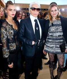 Fashion Week 2016: Gwyneth & Karl Couple Up at Chanel and More Star Snaps from Paris! | People