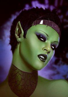 TheSteamPunker - Goblin Queen by Kharnage.deviantart.com on @deviantART
