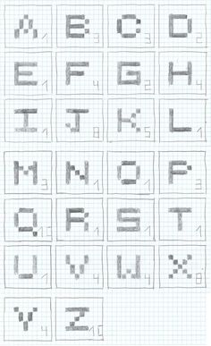 Image detail for -Scrabble Tiles Cross Stitch Pattern. by ~moonprincessluna on ...