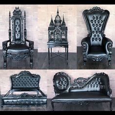 I am very excited to announce that Absolom Roche, one of the furniture companies featured in my upcoming Gothic Homemaking web show is launching a pop up store on the Lower East Side of NYC this weekend! You will be able to see and buy some of the same amazing pieces featured on the show. If you want to live like Gothic royalty you do NOT want to miss this sale!!!! Tell them Aurelio Voltaire sent you! Absolom Roche 119 Ludlow ST, New York, NY 10002 August 5 – August 8 11AM – 11PM…